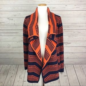 Pixley willow open front cardigan size small